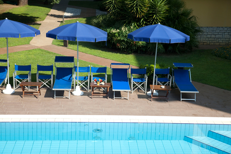 Hotel with swimming pool in Marina di Pietrasanta